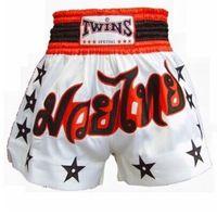 Men Polyester Geometric Mens Tiger Muay Thai Sanda Boxing Trunks Cheap MMA Shorts Hayabusa Fightwear MMA Kick Boxing Fight Trunks S-XXL Black White Red
