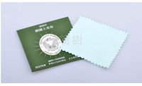 Wholesale Profession Nursing Anti Tarnish Silver Polishing Cloth for Jewelry