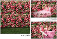 Wholesale Custom X7FT Pinky Blossom Background For Photos Studio Photography Vinyl Backdrop Senior Backgrounds Digital Backdrops