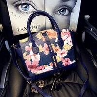 flower handbags - new handbag fashion handbag flowers retro modern printing women Shoulder Messenger bag women handbags