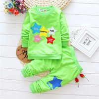 infant and toddler clothing - Baby Clothing Set Childrens Clothing Baby Clothes Toddler Infant baby Boys Tops and Long Pants Cotton set Holiday clothing M53