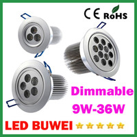 Wholesale High Quality X20 Dimmable Led Ceiling Lamps W W W W W W Led Bulb AC85 V Led Lights Spot light Downlights Power Drive
