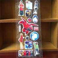 big loot - Big Hero Baymax Hiro Stickers birthday Party gifts loot treat lolly bag fillers souvenirs Favors Teacher Supply