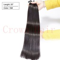 Cheap Micro Nano Ring Hair Extensions Cheapest Human Remy Natural Straight Micro Ring Beads Hair 20'' 1g (100g)100s pc