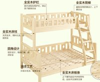 Wholesale 2016 a solid wood children bed Water good environmental protection paint Home Diy suitable choice