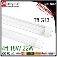 fluorescent bulbs - CE RoHS FCC Top T8 LED Tubes ft W W W lm Lights Lamps V SMD Led Fluorescent Bulbs Lighting mm M Feet V
