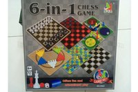 chess - Children entertainment open brain through Toys in Chess Games set Children s chess puzzle Toys Board Games F07 DHL