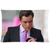 bass hotels - Decorative Gossip Girl Chuck Bass Ed Westwick Two Side Fashion Custom Rectangle Best Pillowcase Pillow Case Cover X30 Inch