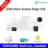 alarm transmitter - etiger S3b Wireless home security alarm system with GSM transmitter mhz ES CAM2A WIFI HD P Day night Vision IP Camera