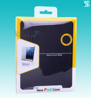 Wholesale 1000pcs Universal Custom Printing ipad Case Package Bag PVC Clear Plastic Retail Packaging Box For ipad case for apple tablet cover