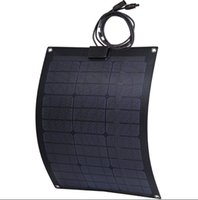 golf cart - 50w Flexible solar panel Water proof perfact to use on yacht car boat snow mobile golf cart Front ETFE back side Fiberglass and aluminum