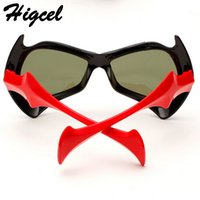 baby environment - New devil s face polarized children s sunglasses baby outdoors comfortable environment silicone sunglasses