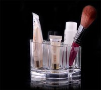 beautiful cosmetic organizer - Beautiful Flower Design Grids Cosmetic Organizer Lip Stick Powder Storage Box Easy to clean