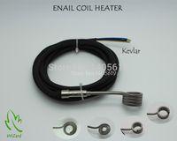Wholesale ENAIL COIL HEATER THERMOCOUPLE K BLACK SLEEVE SUPPORT CUSTOM