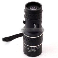 Cheap Wholesale-Factory direct High-definition high-powered 16x52 Double focusing green membrane mini monocular telescope