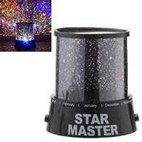 Wholesale Amazing Colorful Star Master Projector Flashing Night Light led novelty lights H12416
