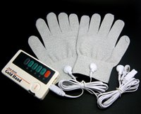 Wholesale MINI Low Frequency Massager TENS Machine Electrical Stimulator Full Body Relaxation Therapy Massage TENS gloves CE