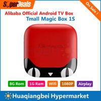 alibaba box - Alibaba Official Smart TV Box Tmall Magic Box S IPTV Android Box A9 Cpu G Rom G Ram Best Replacement of Singapore Starhub Box