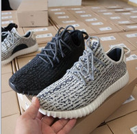 Cheap 1:1 Quality Yeezy 350 Boost Brand Kanye West Yeezy Shoes For Men Women Sneakers Moonrock 100% Original Pirate Black Turtle Dove Yezzy Boots
