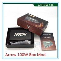 arrow display - 100 Original Arrow W Box Mod Magnet Bottom VARIABLE WATTAGE Arrow w VV Mod colors with LCD Display W W for subtank mini Free DHL