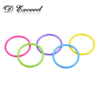 Wholesale Multicolor Children s Jewelry Plastic Bangles Bracelets Fashion Jewelry for Girl Baby Christmas Gift Blue Yellow Purple Green Red BL140057
