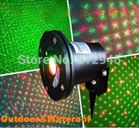 al materials - Stock can Move waterproof laser stage projector outdoor for Christmas party garden light Al material