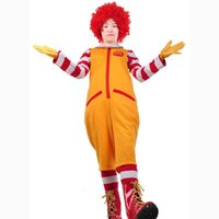 Wholesale OHCOS One Pieces Ronald McDonald Uncle Show Performance Cosplay Costume Clothes Halloween Costume
