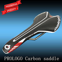 road bike saddle - Prologo ZERO II pas Bicycle Carbon leather Saddle Road Bike Saddle MTB Seat Cushion Cycling Parts Block Package x132mm