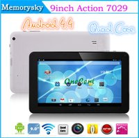 blue screen - Xmas Gift Action inch A33 A23 Quad Core Tablet PC GB Android KitKat HDMI Blutooth MP Camera Cheap inch Tablets
