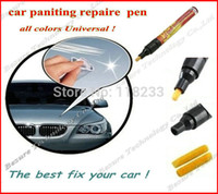 Wholesale All colors Universal No pungent taste New Portable Clear Car Scratch Repair Remover panting Pen filler sealer