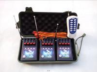 2015 Nuovo articolo 12 Festival Canale fuochi artificio che infornano sistema di accensione Radio fuoco Mezzo tipo di visualizzazione filo elettronico a distanza