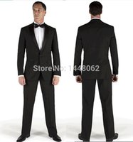 100% wool suits - 2015 Wool High Quality Tuxedos Black Dresswear Sport Suits Wedding Suits Groom For Men Suits Groom Wear Jacket Pants Bow