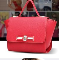 Wholesale 2015Fashion Women Leather bag European designer handbags high quality Shoulder Bags Classic briefcase Bags luxuries famous tote bag purses