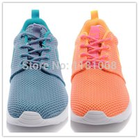 Wholesale 2014 designer tennis shoes women s lightweight sneakers barefoot woman in London roshe sneakers