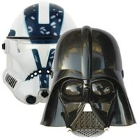 Wholesale star wars masks toys darth vader Empire Storm Clone trooper helmet black warrior Empire soldiers Halloween mask party games Mask cosplay
