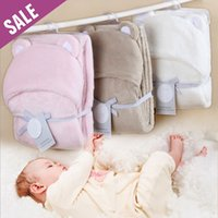 baby soft blanket hood - New Soft thickened Solid baby hood blanket Windproof Baby blankets pack blankets with a hood cloak blanket pc Fast Shipping