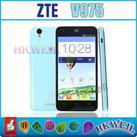 Cheap ZTEGeek V975 Dual Core Inter Z2580 Cell Phone 5.0Inch 1280*720 Pixels Screen 2GB RAM 8GB ROM 1.0MP+8.0MP Camera GSM WCDMA Unlocked Phone