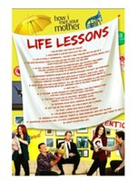 best lessons - How I Met Your Mother Life Lessons Print Poster Best Wall Poster