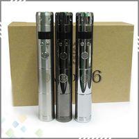 Wholesale Vamo V6 Kit Vamo V6 VW Mod Wattage W W with LCD Display Electronic Cigarette Starter kit Chrome Black Stainless steel Colors