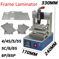 apple manuals - 2016 New Manual Frame Laminator Hot Pressure Bracket Laminating Machine for iPhone Screen Bezel S S C p s s plus Molds