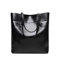 leather purse handles - Large Soft PU Bag Women Leather Handbags Tote Purse Top Handle Shouder Bags Designer Handbags High Quality