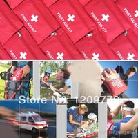 Wholesale A16 Emergency First Aid Kit Pouch Pack Travel Sport Rescue Medical Treatment Bag IA279 P A5