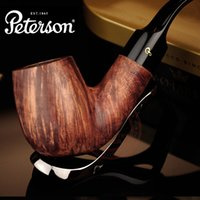 Cheap Wholesale-High quality Briar Smoking Pipe 10 In 1 Pedersen peterson for ar an briar log series smoking pipe smoke pipe tobacco