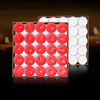 cake candle - Color Round Tealight Candle Birthday Party Cake Accessory Cute Art Candle Wedding Decoration for Sale SD951
