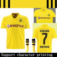 in season clothing - Borussia Dortmund at home in the champions league in season clothing Royce Dortmund champions league football shirt