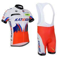 Wholesale 2015 katusha cycling jersey short sleeve summer bib kits men tight jersey bicycle wear ropa ciclismo bicicletas maillot ciclismo