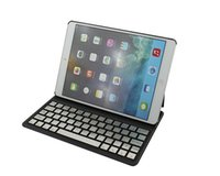 Wholesale ipad Cases Bluetooth Wireless Keyboard Foldable Leather Case For iPad air iPad air inch Tablet PC DHL