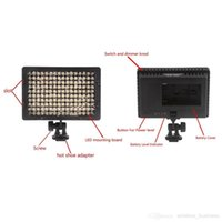 Wholesale High Power LED Video Light Camera Camcorder Lighting for Canon Nikon Panasonic Pentax Sony Olympus Digital SLR Camera