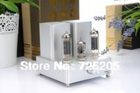 Cheap 2 x 3.5W HIFI Mini Tube Amplifier 12AX7 tube as pre-amplifier EL84 as Power Free Present Power Cord and 3.5 to 2 RCA Audio Cable
