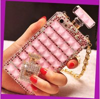 bling cell phone case - s6 cases Iphone s case iphone plus cell phone case Luxury Diamond Bling perfume bottle case for iphone note3 note